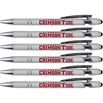 Greeting Pen Alabama Soft Touch Coated Metal 6 Pack 30502