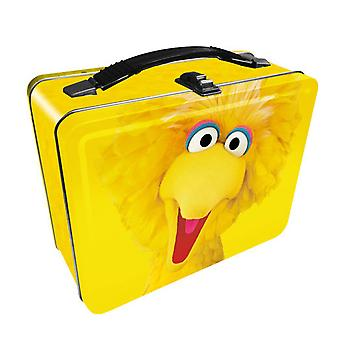 Sesame Street Big Bird Tin Fun Box