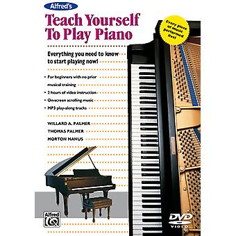 Teach Yourself to Play Piano [DVD] USA import