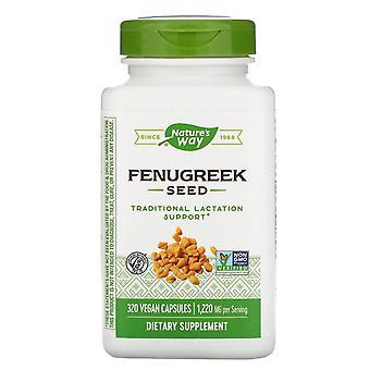 Nature's Way, Semi di Fenugreek, 1.220 mg, 320 Capsule Vegane