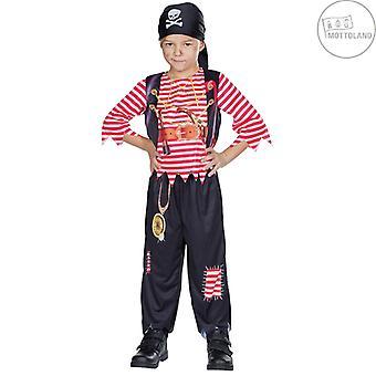 Pirate Boy Kinder Pirat Seeräuber Kostüm Piratenprinz