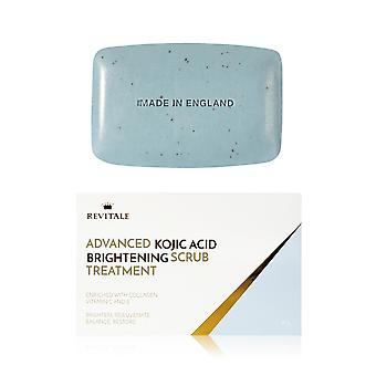 Revitale Advanced Kojic Acid Brightening Scrub Treatment Soap