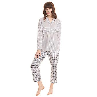 Rösch Smart Casual 1203530-16543 Women's Stripe Mix Pyjama Set