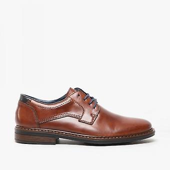 ريكر 17627-25 الرجال & apos;ق اضافية واسعة الدانتيل حتى الأحذية براون