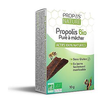Pure organic chewable propolis 10g