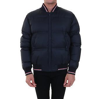 Thom Browne Mjd070x05411415 Men's Blue Nylon Outerwear Jacket