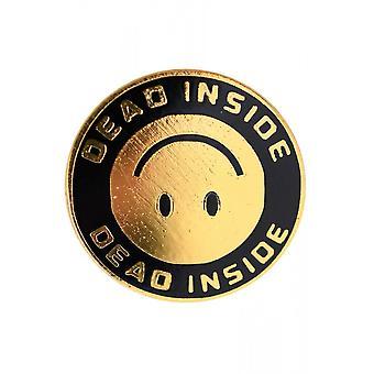 Fearless Illustration Dead Pin Badge