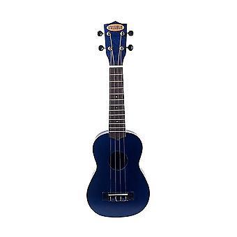 21inch Blue Ukulele Plastic Guitar 4 String Guitar for Beginners