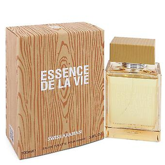 Essence De La Vie Eau De Toilette Spray por Swiss Arabian 3.4 oz Eau De Toilette Spray
