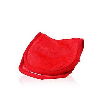 Makeup Eraser Cloth - # Love Red - -