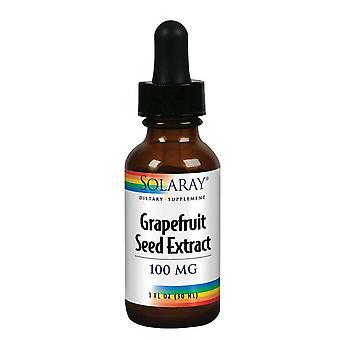 Estratto di semi di pompelmo Solaray, 100 mg, 1 oz
