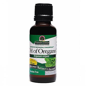 Nature's Answer Oil Of Oregano Leaf, 1 Oz
