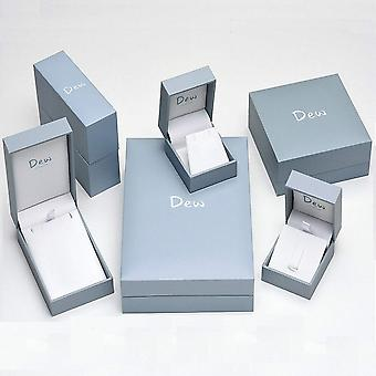 Dauw sterling zilver afgerond knoop Stud Oorbellen 48236HP014