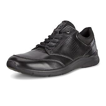 ECCO 511734 ايرفينغ الرجال & أبوس؛ق الدانتيل متابعة الأحذية في الأسود