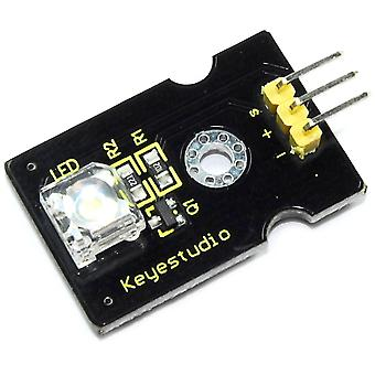 Keyestudio 8mm White LED Module