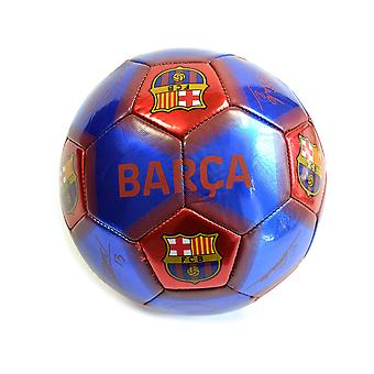 Barcelona Licenced Red/Blue Signature Ball Size 5 BC07031