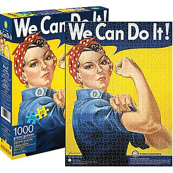 Vi kan gøre det - Rosie de Riveter 1000 PC puslespil USA importerer