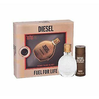 Diesel Fuel For Life Pour Homme Giftset Eau de toilette Spray 30 ml + Duschgel 50 ml