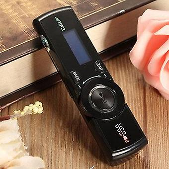 LCD Screen USB Mp3 Music Player FM Radio Support 16GB Micro SD TF Card