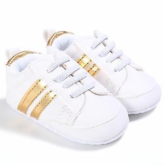 New Sneakers Newborn Baby Crib Sport Shoes Infant Lace Up Soft Sole Shoes