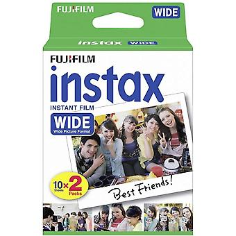 Instax wide film, 20 shot pack, 16385995 20 shot, white border