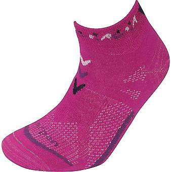 Lorpen Ankle Socks T3 Women's COOLMAX Ultralight UK Taille 5 - 7.5 Moyen - Berry
