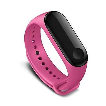 Αντικατάσταση 220 χιλιοστά Wriststrap ρολόι μπάντα για Xiaomi Miband 3 έξυπνο βραχιόλι