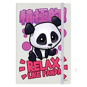 Handa Panda Relax Like Panda A5 Notebook