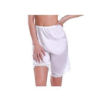 المرأة الدانتيل زلة Pettipants النوم شورت فضفاضة سراويل داخلية تنفس الملابس الداخلية قصيرة