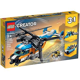 LEGO 31096 double-rotor helicopter