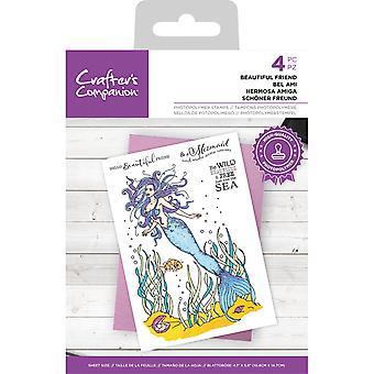 Crafter's Begleiter schöne Freund klar Briefmarken