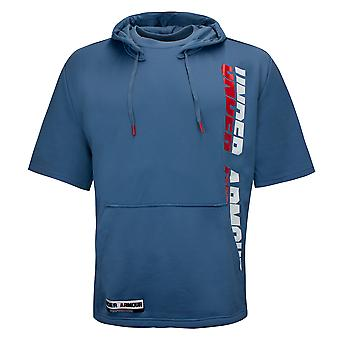 Under Armour Always On Short Sleeve Hoodie Mens T-Shirt 1346510 407