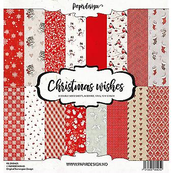 Papirdesign Christmas Wishes 12x12 Inch Paper Pack