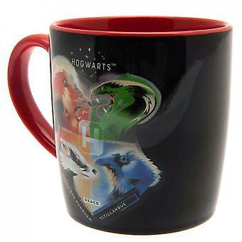 Harry Potter Hogwarts Houses Mug and Coaster Set