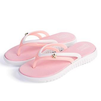 Summer Slip-on, Hard-wearing Leisure, T-tied Flip-flops Slippers