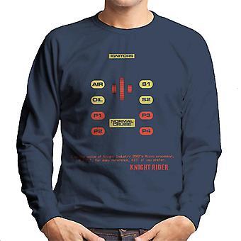 Knight Rider Jag är röst knight industrin 2000-talet Microprocessor Men&apos, s Sweatshirt
