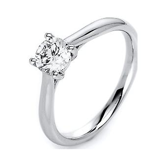 Luna Creation Promessa Solitairering 1H350W854-1 - Largura do anel: 54