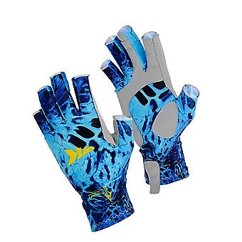 Spf 50 Sun Hands Protection Breathable Outdoor Sportswear Gloves
