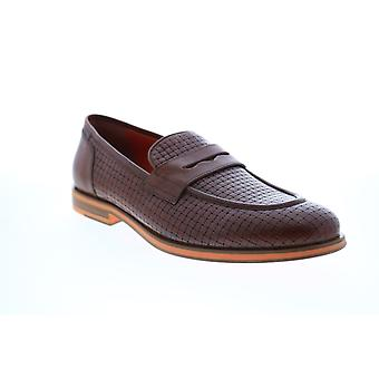 Geox U Bayle  Mens Brown Loafers & Slip Ons Penny Shoes