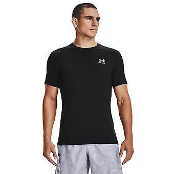 Onder Armour Mens 2021 HeatGear Armour Vocht Wicking korte mouw T-shirt