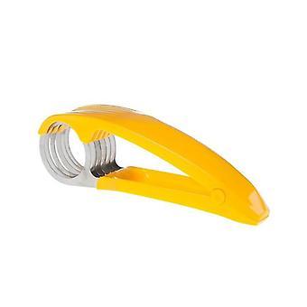 Roestvrij staal fruit groente worst slicer salade ijscoupes tool (geel)