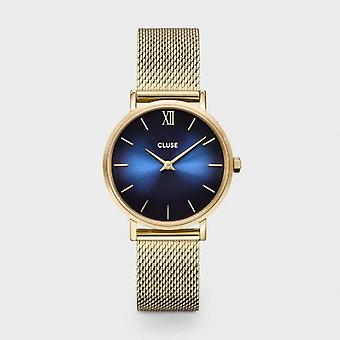 Cluse Unisex Minuit Rose Gold Circle Quartz Fashion Watch CW10202