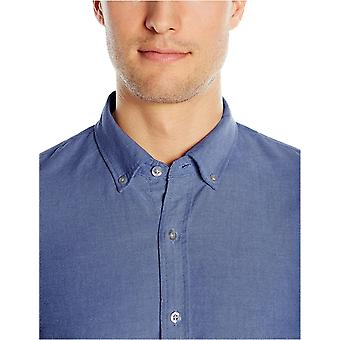 "Marke - Goodthreads Men's ""The Perfect Oxford Shirt""Slim-Fit Long-Sleeve Solid, Indigo, 2XL Tall"