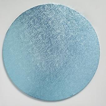 """12"""" (304mm) Cake Board Round Light Blue - sencillo"""