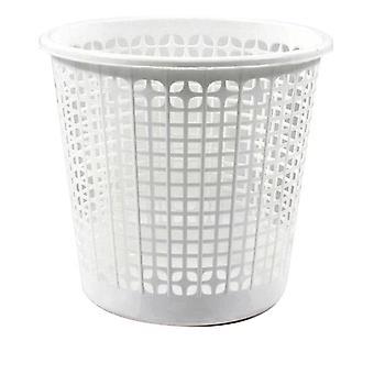 Bidone della spazzatura Dem Ufficio Bianco Plastica ( 27 x 25