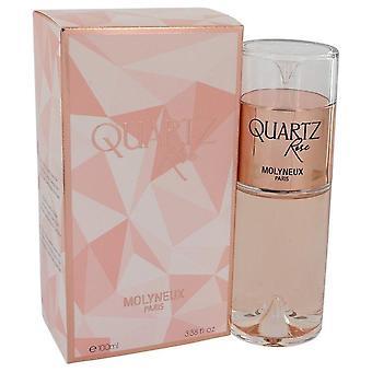 Quartz Rose Eau De Parfum Spray By Molyneux 3.38 oz Eau De Parfum Spray