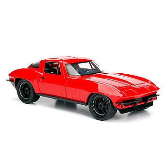 F&F 8 '66 Chevy Corvette 1:24 Scale Hollywood Ride