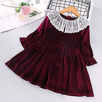 Καλοκαιρινό φόρεμα παιδιών συμβαλλόμενων μερών πριγκηπισσών τυπωμένων υλών τόξων κομψό (σύνολο 1)