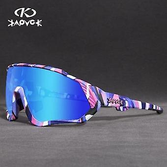 Ποδηλασία γυαλιά ηλίου Mtb Πολωμένα γυαλιά αθλητικής ποδηλασίας γυαλιά