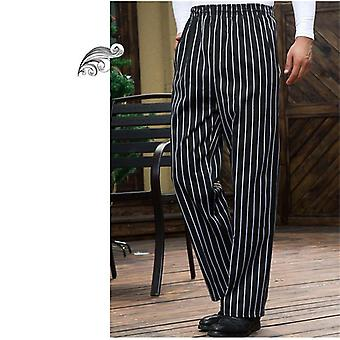Waiter Cookchef Work Clothes Restaurant Chef Elastic Work Pants